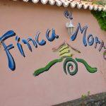 Finca El Morro Einfahrt