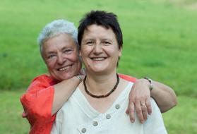 Renate und Inge